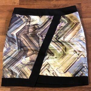 Ted Baker London Mini Skirt Size 2 Above Knee